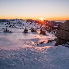 Silvestrovský východ slunce