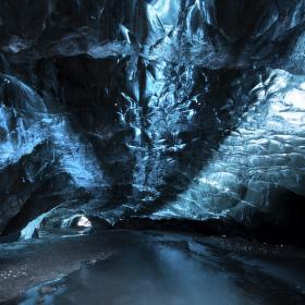 Ledová jeskyně Islandská