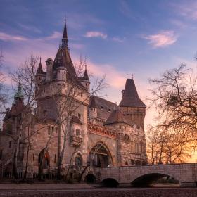 Like in fairy tale, Vajdahunyad Castle