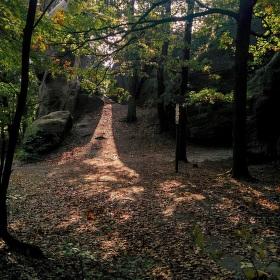 sluneční chodník