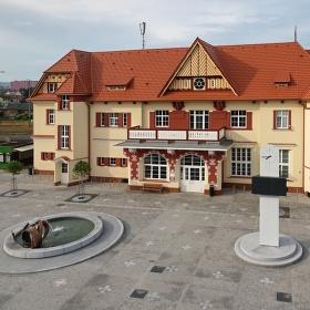 Vlakové nádraží v Uherském Brodě