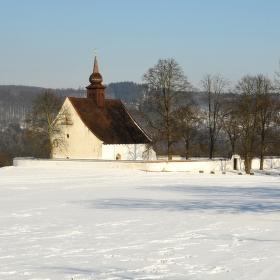 Kaple Matky boží u hradu Veveří