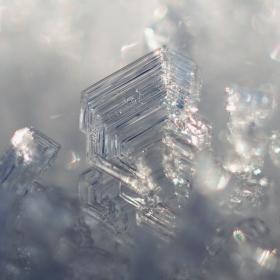 Krystaly v ledovém sněhu II