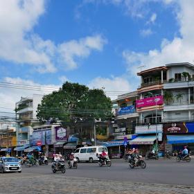 Na předměstí Nha Thangu
