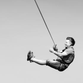 Na laně