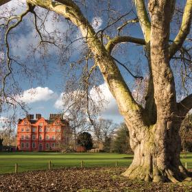 Kew Gardens, Richmond, London, UK
