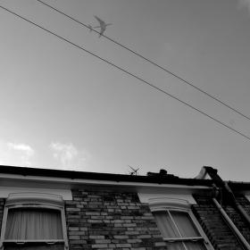 Přelet nad Londýnem