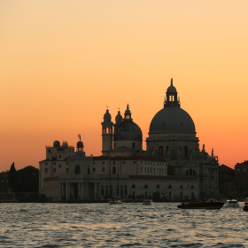 Soumrak v Benátkách