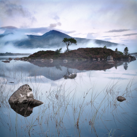 Skotsko, Rannoch Moore, Loch Nah-Achlaise