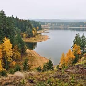 Podzim nad vodou...