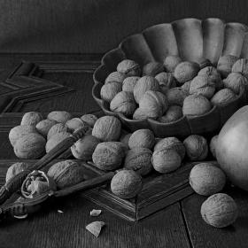 Oříšky s jablečnou příchutí
