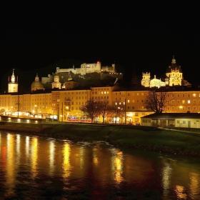 Večerní Salzburg
