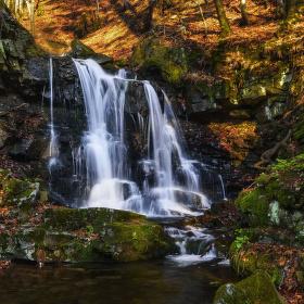 Tošanovský vodopád II