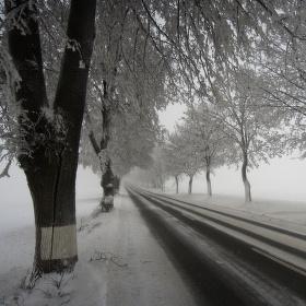 Cestou na Čertovku.