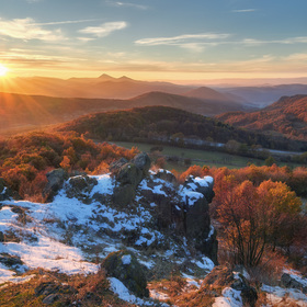 Západ z Holého vrchu