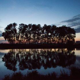 Noční klid u vody
