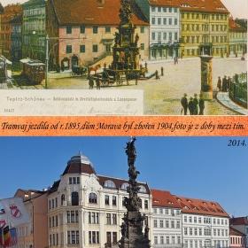 Zámecké náměstí v čase.