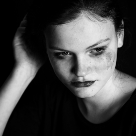 ....sad girl...