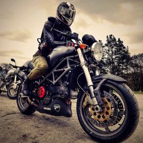 Ducati Monster S4, motovýlet Zvířetice