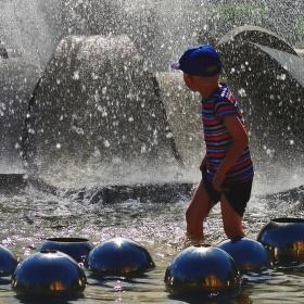 ve fontáně