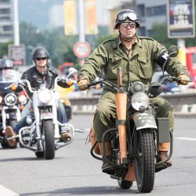 110 let Harley Davidson