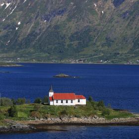Kostel na Lofotech