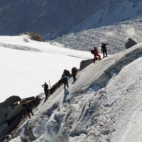 Směr Mont Blanc