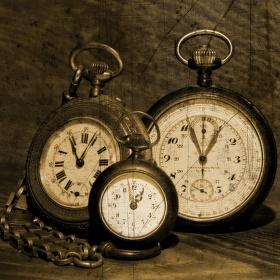Kapesní hodinky mého dědečka.