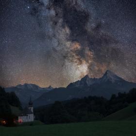 Půlnoční Watzmann