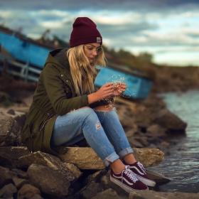 Evča u jezera