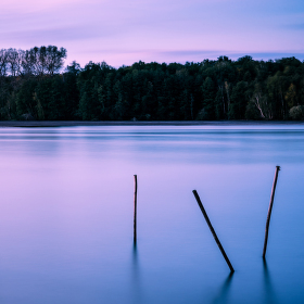 Večer na rybníku