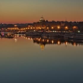 Ráno nad Vltavou