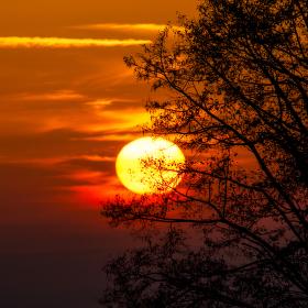 Západ slunce 2017