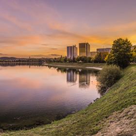 Mšenská přehrada - Jablonec nad Nisou