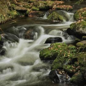 Voda v horách