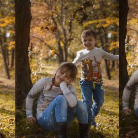 Podzimní radovánky..