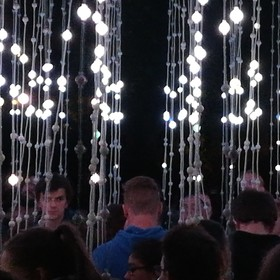 Světelné liány ...