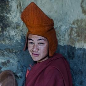 Mladý mnich z Phugthal gompy - Zanskar
