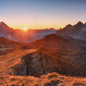 Dolomity - Monte Mondeval