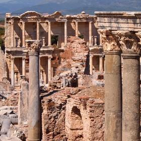 V jediném pohledu (starověký Efes - Turecko)