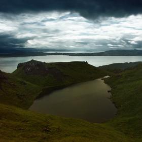 Jezero u moře