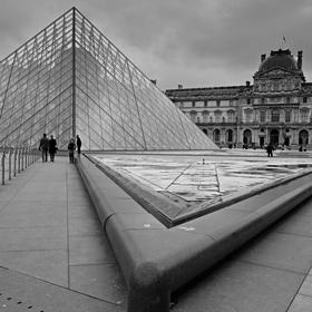 Louvre mezi sezónami