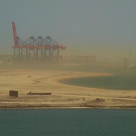 Písečná bouře - Suez