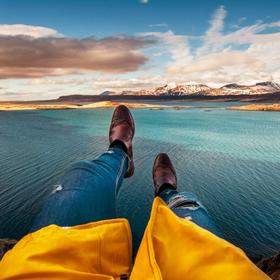 Nohy z útesu to je moje