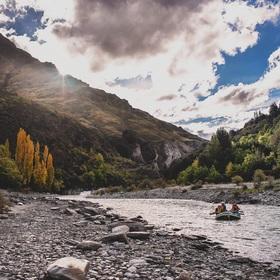 rafting on Shotover river