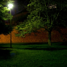 Park pod letním kinem