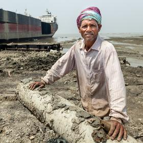 Portrét z Chittagongu