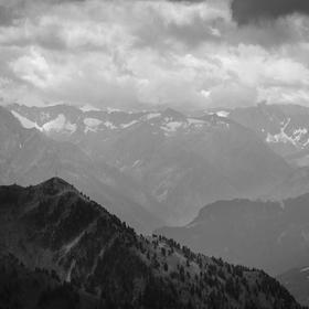 Výhled z Wiedersbergerhornu