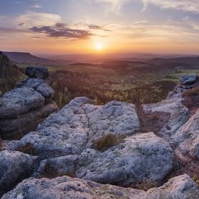 Pohled do Broumovského kráje