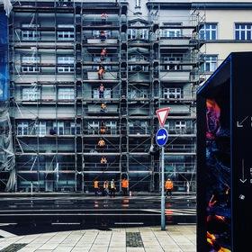 Ostrava Orange Human Lift